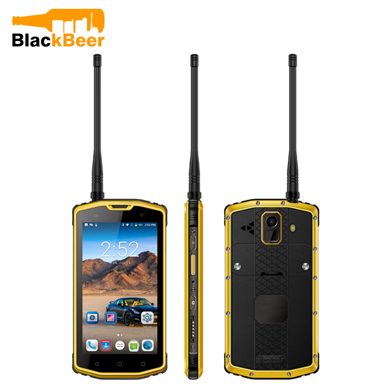UNIWA S962B 5.0 4G <font><b>Smartphone</b></font> Dual SIM Card 5100mAh <font><b>Android</b></font> <font><b>7.0</b></font> Mobile Phone UHF PTT IP68 Waterproof Cellphone NFC Walkie Talkie image