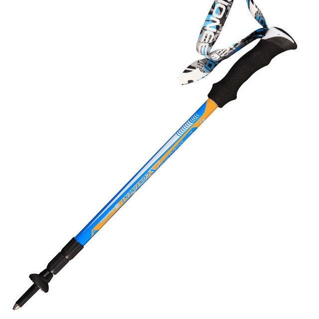 1 pc/paire PIOMEER extérieur voyage Camping ultraléger 3 couleurs Trekking randonnée en Fiber de carbone bâton de marche Alpenstock Ultrashort tige