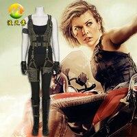 Cosplay Kostüm Resident Evil Son Bölümde Alice Kostüm Cadılar Bayramı Cosplay Kostümleri Kadınlar için Hızlı Kargo