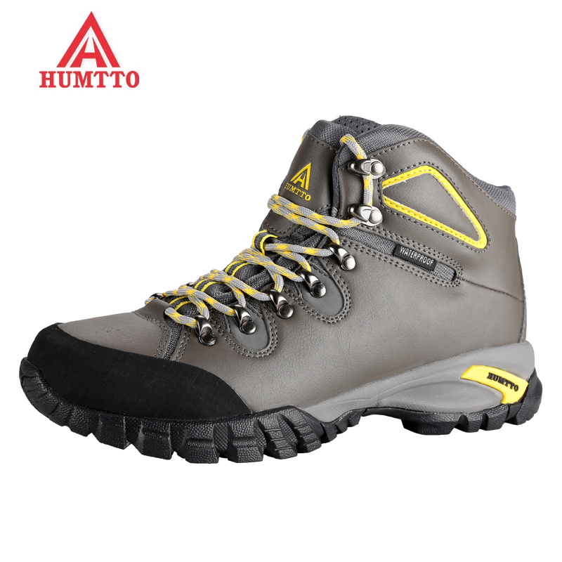 sale winter hiking shoes men sapatilhas mulher trekking boots climbing outdoors women shoe camping Genuine Leath Warm plush rubb yin qi shi man winter outdoor shoes hiking camping trip high top hiking boots cow leather durable female plush warm outdoor boot