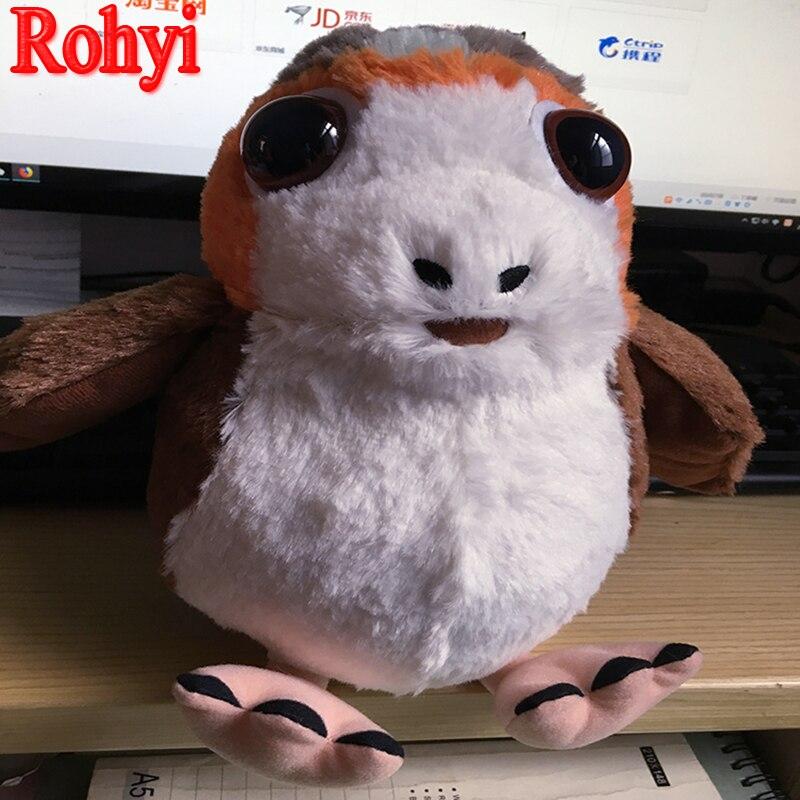 Rohyi Die Letzten Jedi Porg Vogel 15 cm-25 cm Plüsch Stofftiere TV ...