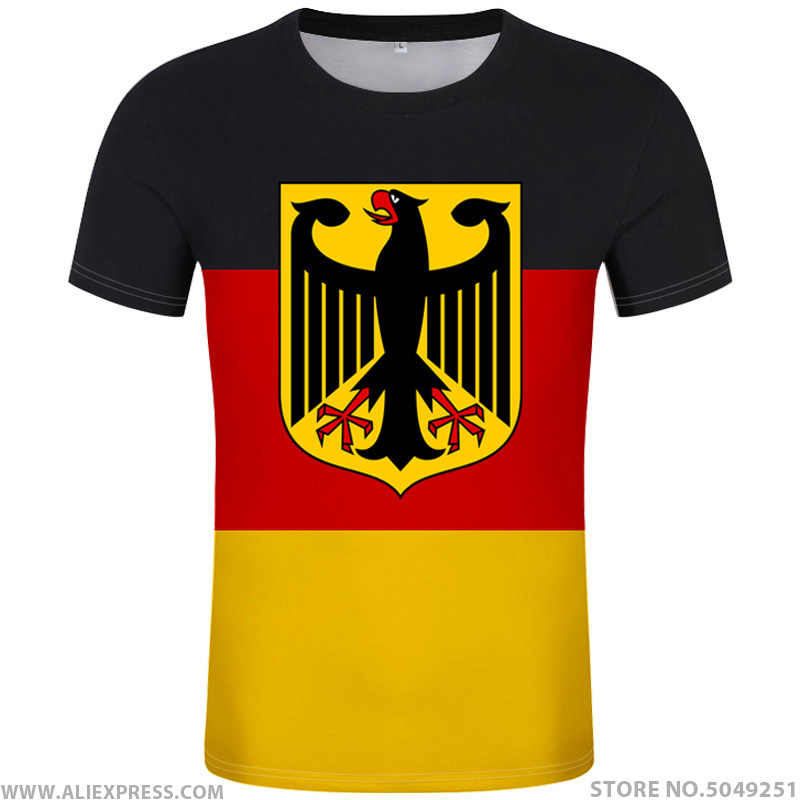 GERMANY t shirt free custom diy name number deu t-shirt nation flag de country german bundesrepublik college print photo clothes