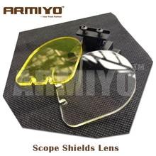 Armiyo BB Balls Bulletproof Lens Gun Scope Shields 20mm Rail Optics Laser Hunting