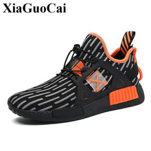 New Men Sneakers Casual Shoes Adult Male Tenis Footwear with Platform Stylish Mixed Color Breathable Anti-skid Design Leisure