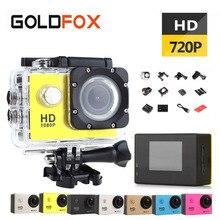 Goldfox SJ 4000 Открытый Спорт Действие Камера 720 P hd mini cam Go Водонепроницаемый Pro велосипед Автомобильный видеорегистратор с коробку