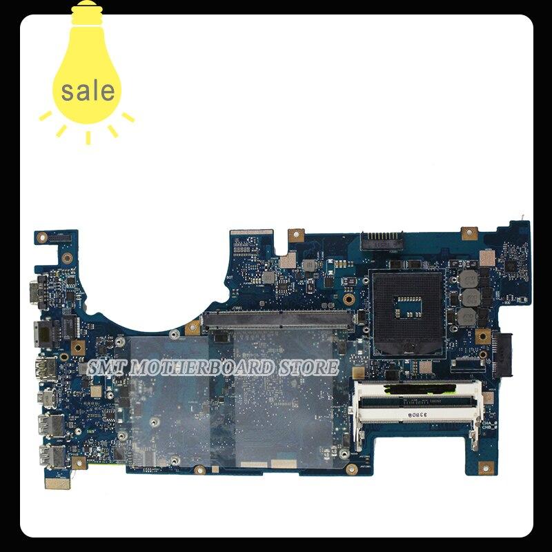 For Asus Motherboard G75V G75VX REV2.0 Mainboard 3D Connector PGA989 60-NLEMB1101 Fully Tested n56vb motherboard n56vm rev2 3 mainboard gt740 4g ddr3 pga 989 fit n56vm n56vj n56vz 100% tested