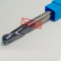 1pc radius=5mm 2 Flutes hrc45 R5*40*D10*150 solid carbide Ball nose End Mill CNC router bits tools Milling cutter