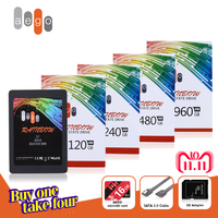AEGO High Performance hdd 2.5 inch SATA3 SSD 120GB 3D Nand Flash ssd 240 GB 480GB 960GB SSD hard drive for laptop