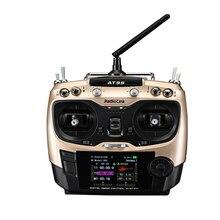 Radiolink משדר מערכת 9CH עם R9DS AT9S 2.4 גרם מקלט שלט רחוק עדכון חזון AT9 עבור מסוק quadcopter
