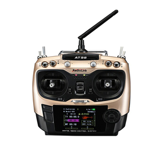 Image 1 - Radiolink AT9S 2.4G 9CH System Transmitter with R9DS Receiver AT9 Remote Control update vision for quadcopter Helicopter
