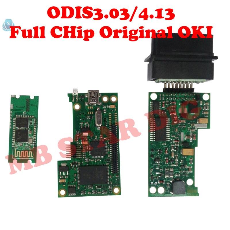 Nouveau VAS 5054A Plein Puce OKI ODIS V3.03/4.2.3 Outil De Diagnostic vas5054A Bluetooth Appui Protocole UDS outil de diagnostic pour VW