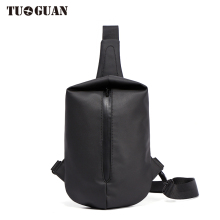 Tuguan Brand Chest Bag Travel Satchel Messenger Handbag Casual Sling Flap Male Men Boys Fashion Business Shoulder Crossbody Bags men fashion business handbag dual use handbag shoulder bag tote flap bag chest bag