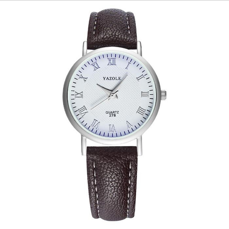 LinTimes Men Watches Luxury Blue Ray Waterproof Leather Band Quartz Wristwatch For Valentine's Day