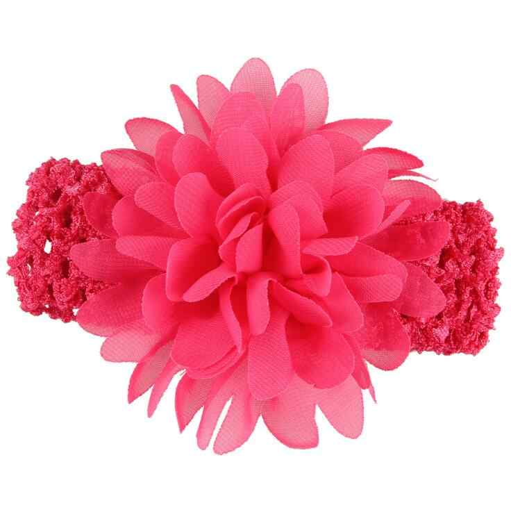 baby girl headband Infant hair accessories clothes band Flower newborn Headwear tiara headwrap hairband Gift Toddlers Floral