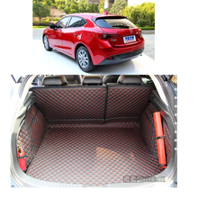 Ajuste personalizado de couro tapete mala do carro tapete de carga para mazda3 mazda 3 2014 2015 2016 2017 sedan 5d forro de carga hatchback