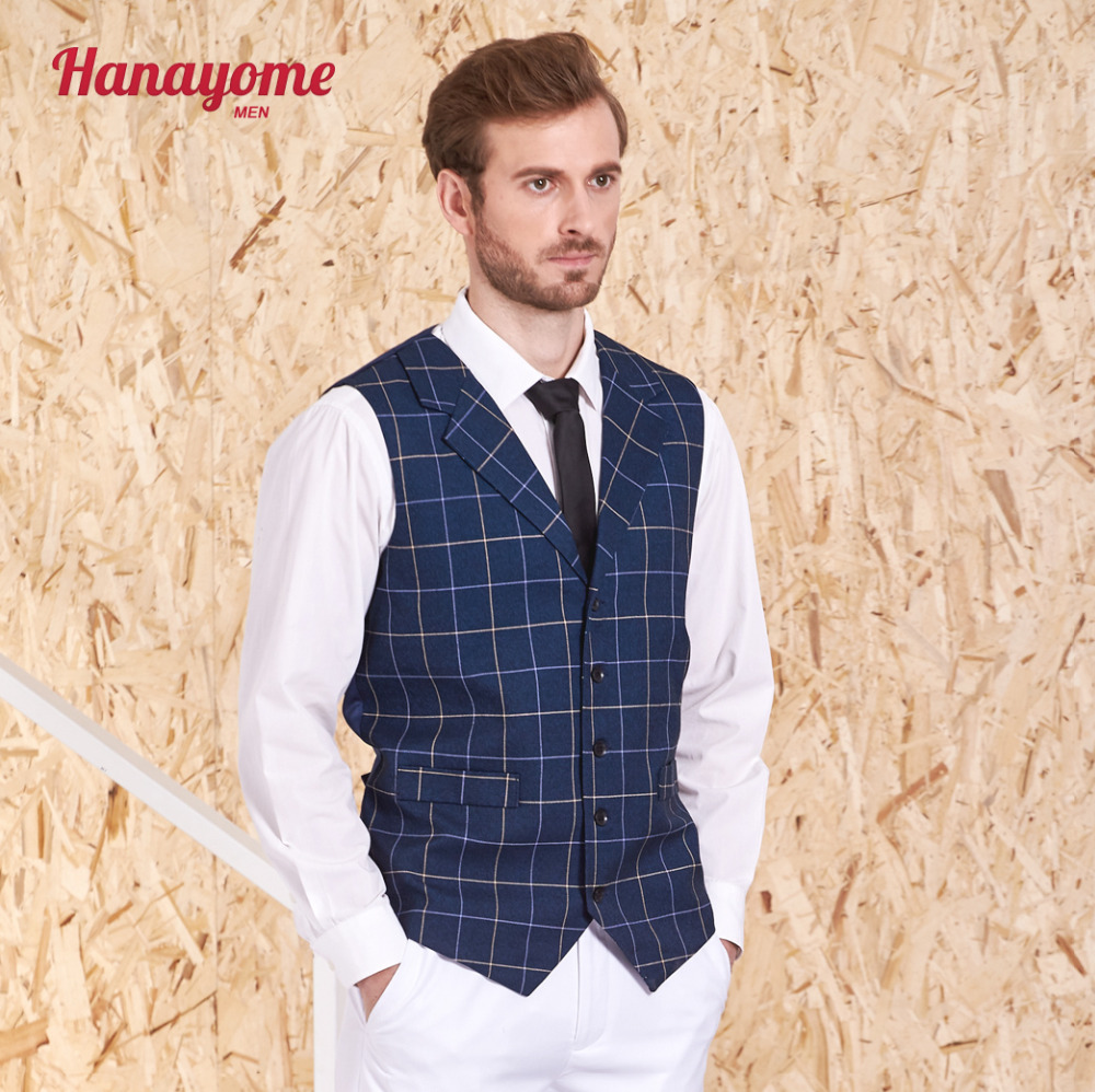 Suits & Blazers Fine Hanayome Dress Vests For Men Slim Fit Mens Suit Vest Male Waistcoat Gilet Homme Casual Sleeveless Formal Business Jacket Si175