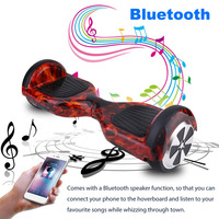 2 Wheel hoverboard Self Balance Scooters 6.5 Inch Electric Bluetooth Speaker Hoverboard Durable Electric Skate Board EU Plug