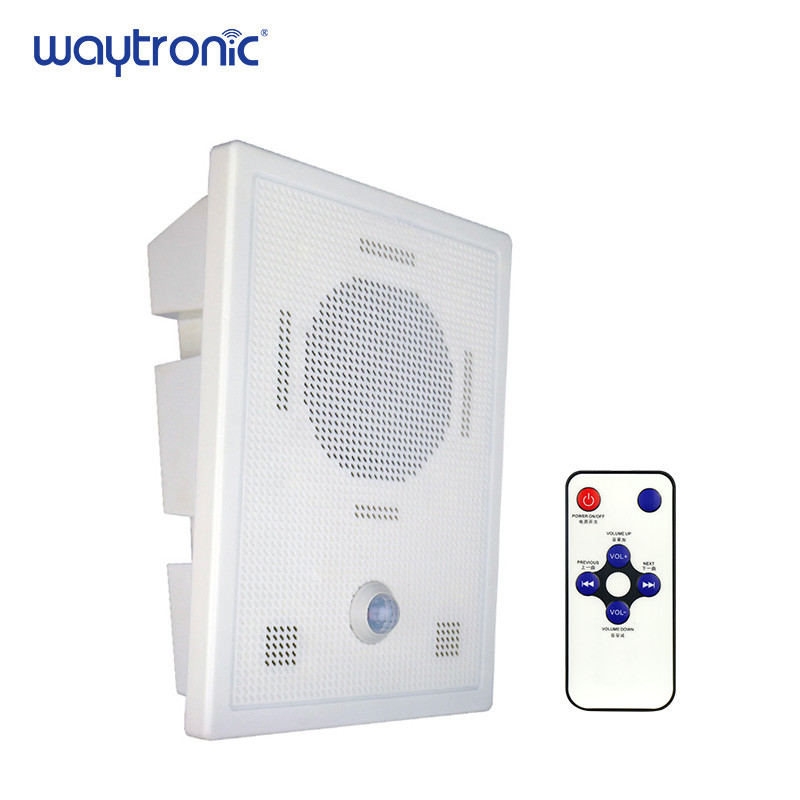 Cellphone Bluetooth Wireless Voice Replacement Motion Sensor Loudspeaker Wall Mount High Power MP3 Audio Announcement Speaker-in Building Automation from Security & Protection