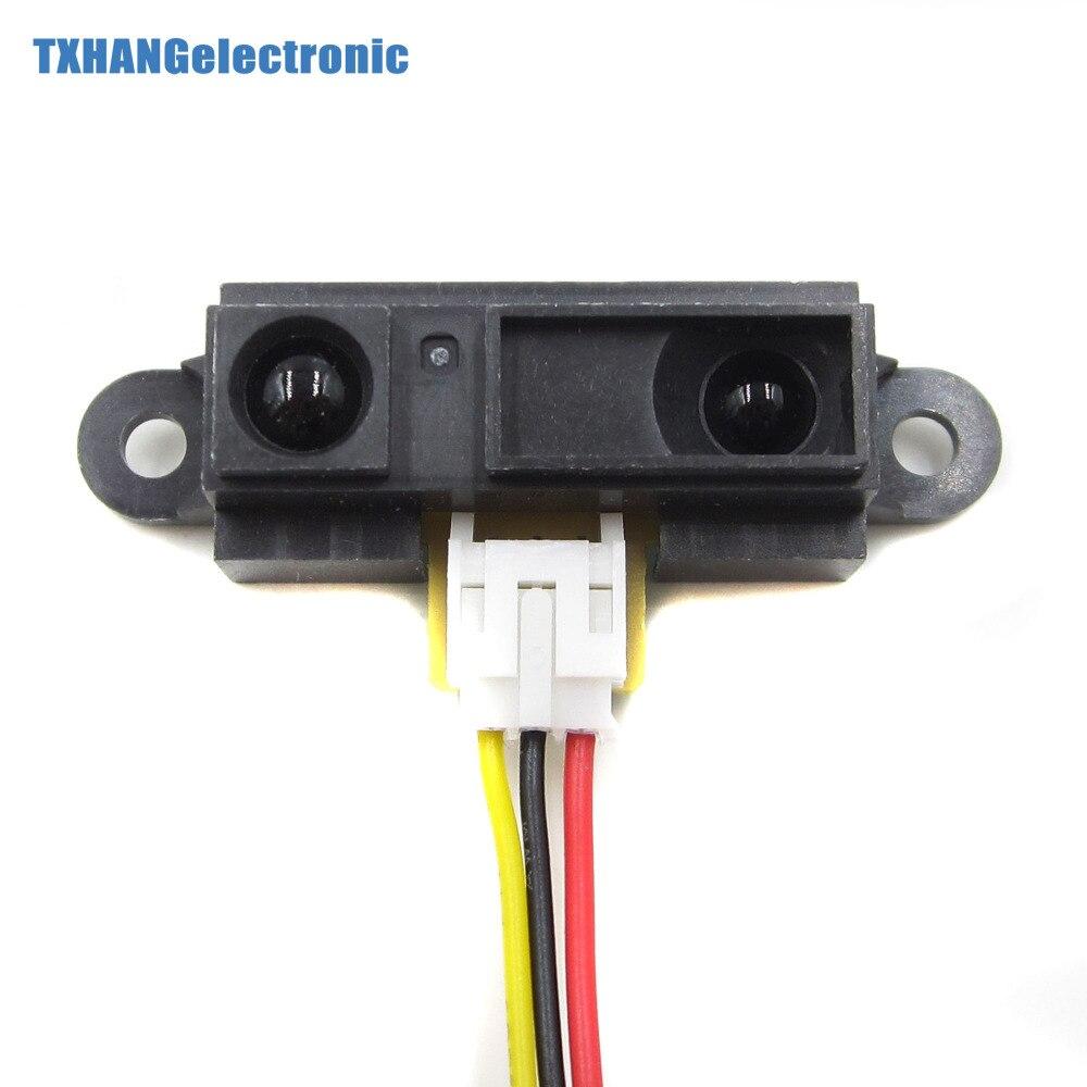 Sensor GP2Y0A21YK0F Mess Messabstand Sensor 10 zu 80 cm mit Kabel für Arduino sharp gp2y0a21yk0f