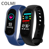 COLMI M3S Color Screen Fitness Tracker IP67 Waterproof Blood Pressure Heart Rate Monitor Smart Bracelet Band Standby 20 Days Smart Wristbands