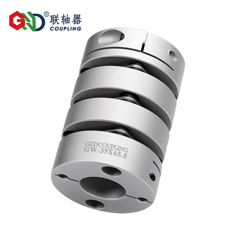 GW aluminum alloy three diaphragm clamping series Shaft Couplings GW-82X128 GW-94X128 GW-104X134 GW-126X142 motor andes 26 gw b426 blue