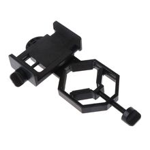Universal Cell Phone Adapter Mount Monocular Microscope Accessories Adapt Telescope Mobile Phone Clip Accessory Bracket