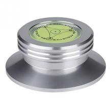 Novo preto registro peso braçadeira lp vinil turntables metal disco estabilizador
