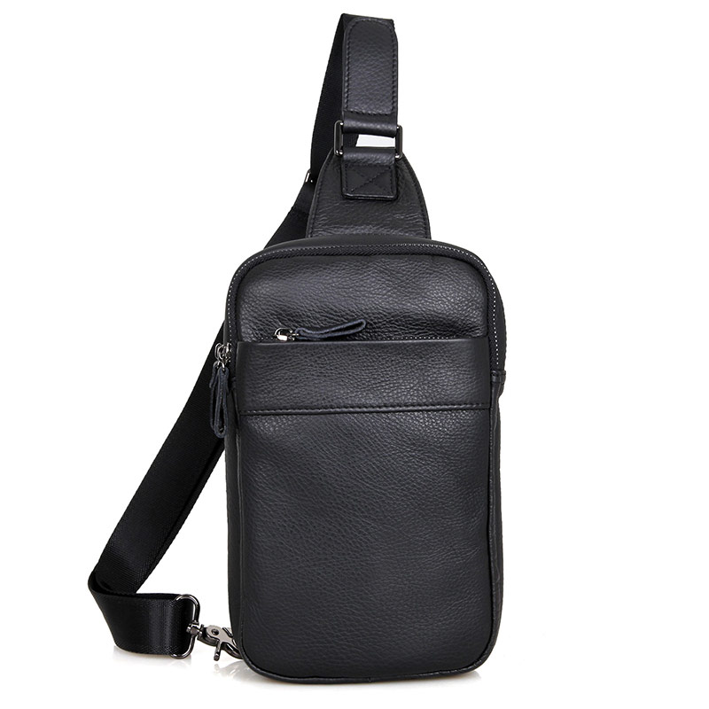 font b Men s b font Leather Shoulder font b Bag b font Crossbody Sling