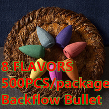 Fragancias Importadas 1kg Colorful Smoke Backflow Incenses Bullet Cones Aromatherapy Fragrance Natural Indoor Bulletes Sachets