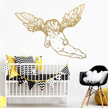 New little angel Home Decoration Accessories For Decor Living Room Bedroom Vinyl Art Decals