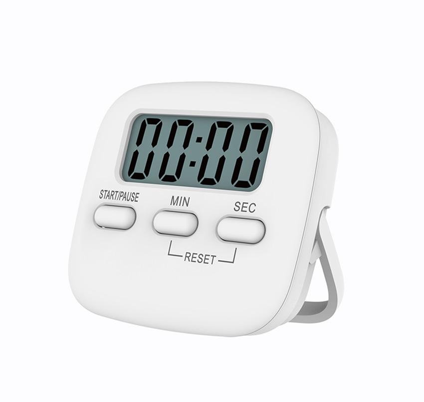 Küche, Esszimmer & Bar Weiß Küche Pocket Digital Großen Lcd-bildschirm Countdown Timer Kochen Zeit Wecker Für Küche Mal Werkzeuge
