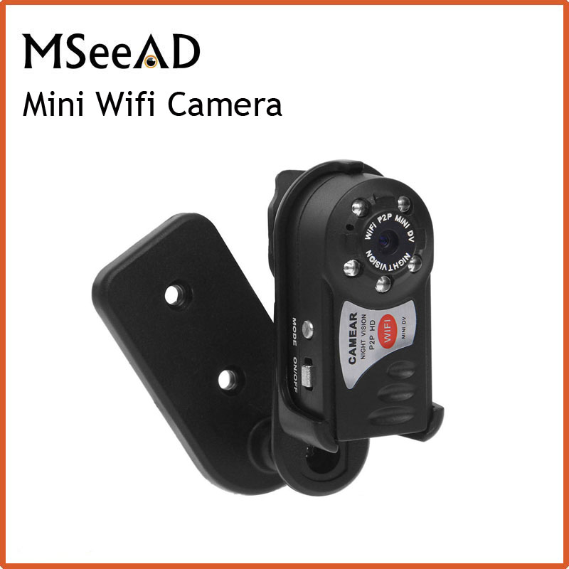 Mini Wifi DVR Video Camera Recorder Wireless Wi-fi IP Camera Night Vision Camera Motion Detection Built-in Microphone eplutus dvr 920 wi fi 2 камеры
