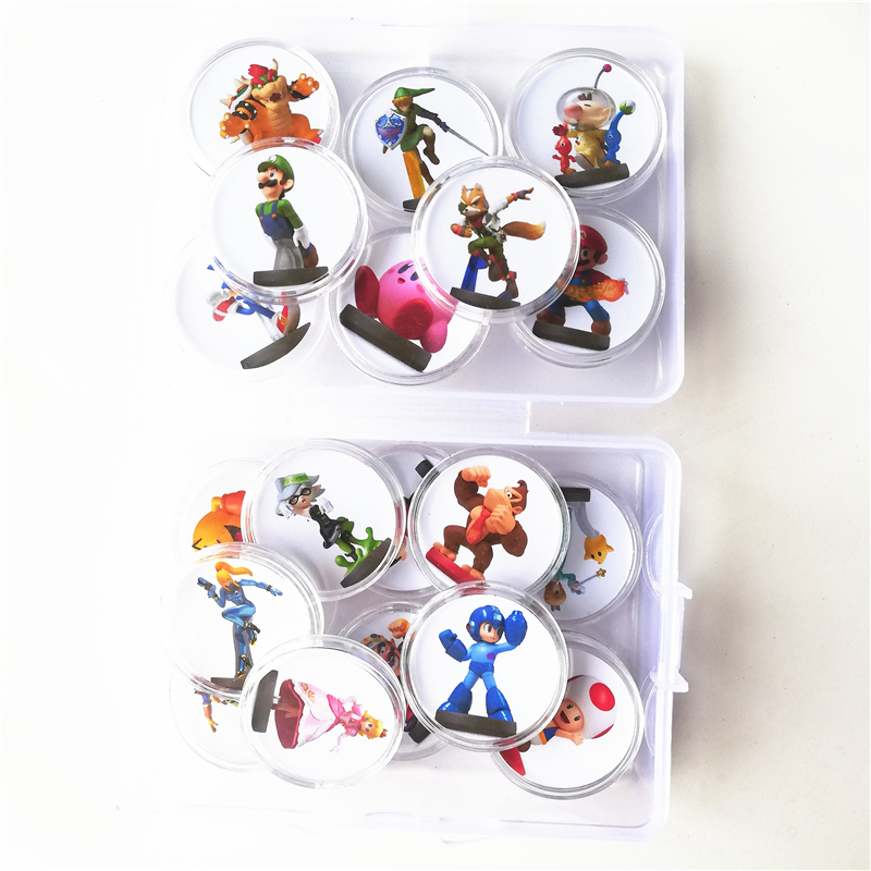Fast Shipping Full Set 20Pcs Mario Kart 8 For Amiibo Game Card Collection Coin Ntag215 Sticker Tag NFC Printed NS Switch WiiU