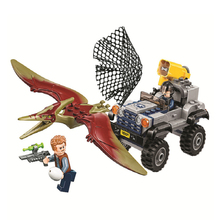 Jurassic World Dinosaur The Pteranodon Chase Model figure Building blocks Bricks Compatible With75926 toys for children in stock lepin 15015 5003pcs city street the dinosaur museum model building kits blocks bricks compatible children toys gift