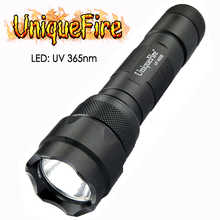 UniqueFire WF-502B-UV 365-370NM UV Single File Flashlight For Pets Urine And Stains Detector Ultraviolet Lamp Torch - DISCOUNT ITEM  5% OFF Lights & Lighting