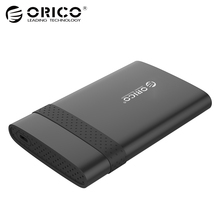 ORICO 2538C3 2.5 inch Type-C Mobile Hard Disk Box USB3.0 Notebook Free Tools HDD enclosure for SSD (Not including HDD)