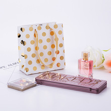 100 Pcs Paper Gift Bags With Handles For Wedding Birthday Party Favors Small Bag Present Cosmetics Jewelry Kraft Paper Bag Candy delta акб delta moto ct 1207 agm ytx7a bs 7ач п п