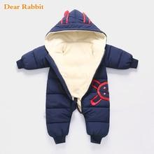 Г. Одежда для новорожденных зимний комбинезон, зимний костюм для мальчика, теплый бархатный комбинезон, пуховая хлопковая одежда для девочек верхняя одежда для младенцев
