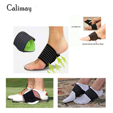 2 Pairs Cushioned Arch Support for Pain Relief & Sore Flat Feet