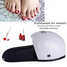 48W Rainbow 4 móda profesionální nožní nehty UV LED nehtové lampy Manikuristy nehty profesionální sušení světla noha péče nástroj