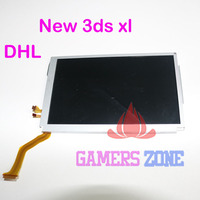 10PCS DHL Replacement Top Upper LCD Screen Display for Nintendo New 3DS XL LL N3DS 2015 Version