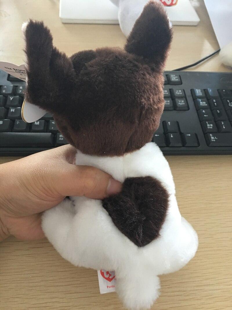 Ty Beanie Portia the Boston Terrier Plush Stuffed Animal Dog Doll Toy Xmas Gift
