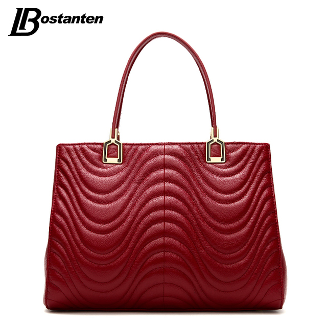 3ca72ceee3a BOSTANTEN Fashion Famous Designer Brand Bags Women Leather Handbags Genuine  Leather Bags Handbags Women Famous Brands 2016-in Top-Handle Bags from ...