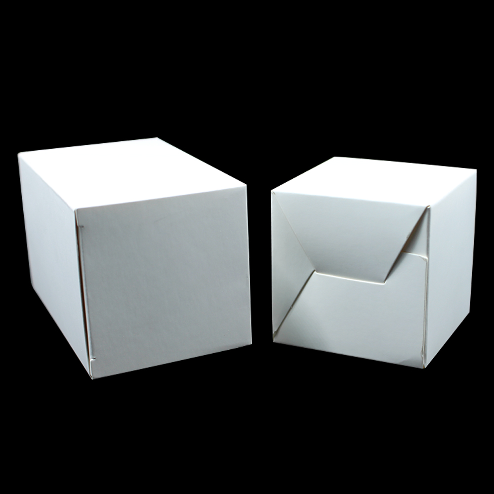 10*10*10cm White Cardboard Packaging Boxes [ 100 Piece Lot ] 1