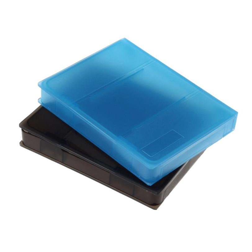 New Qualified 2.5 Inch SATA IDE Hard Drive Disk PP Plastic Storage HDD Box Case Tank  Levert Dropship dig637