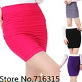 2016 hot selling fashion women slim fit high waist short skirt lady's office mini skirt for woman 8 colors