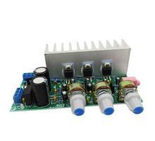 TDA2050+TDA2030 2.1 Three channels subwoofer amplifier board finished board 60W AC9-15V transformer