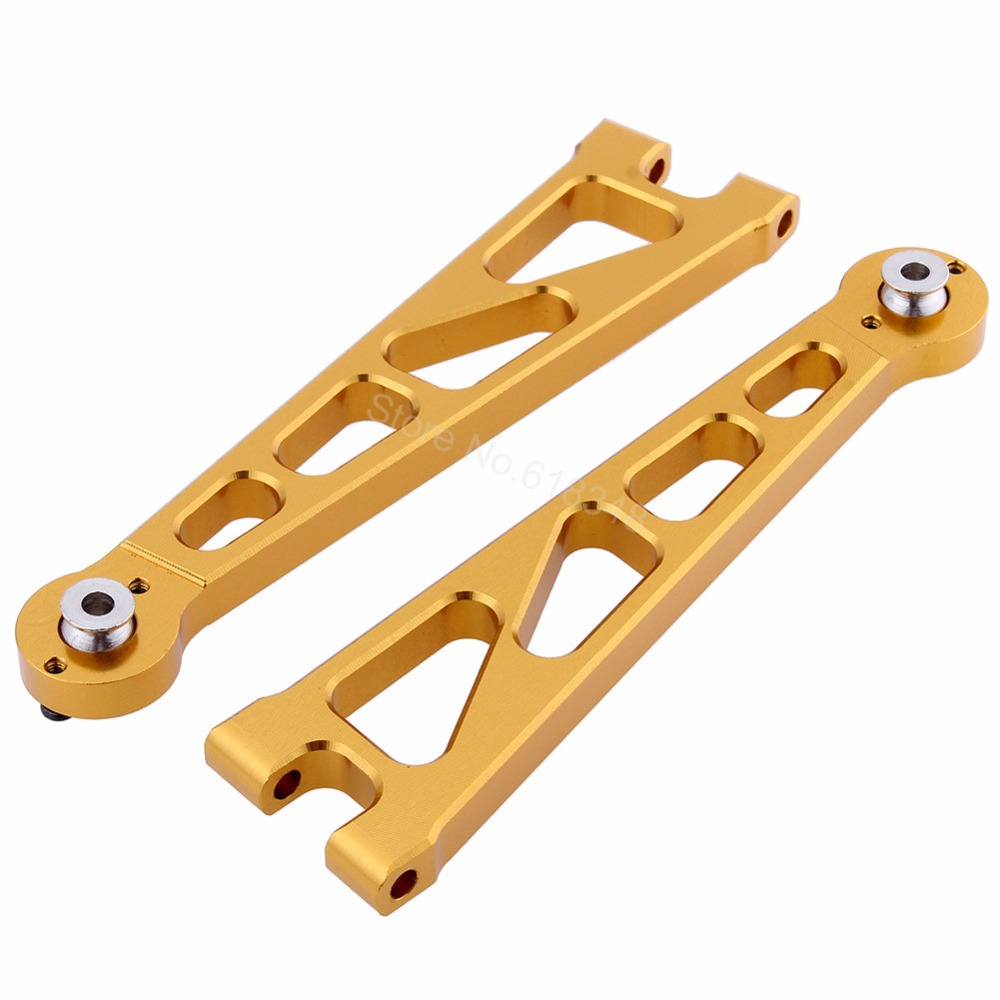 Aluminum Front Upper Suspension Arm (L/R) For 1:10 Electric Himoto E10XT E10XTL Katana Truggy Upgrade Parts 33601G mig welding machine spool gun push pull feeder aluminum copper or stainless steel dc 24v motor wire 0 6 1 2mm welding torch