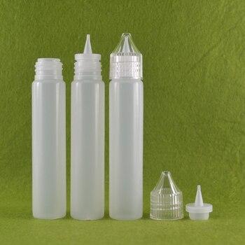 Unicorn Bottle e liquid bottles 30ml dropper Plastic empty Pen style bottle with colorful cap clear screw cap with long time