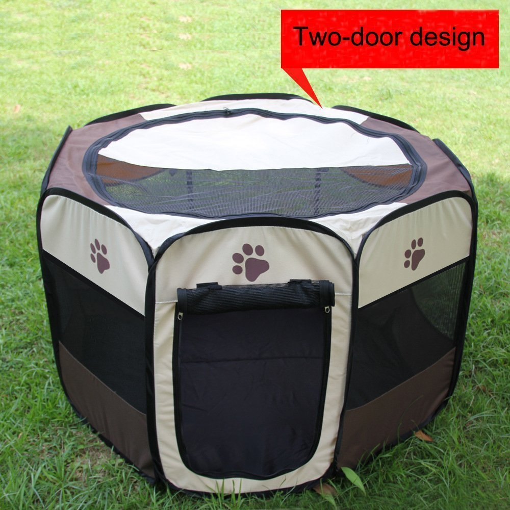Pet PlayPen Puppy Dog Pet Cat Rabbit Guinea Pig Portable Foldable Fabric  House Playpen Crate Cage Kennel Tent Outdoor Indoor In Hair Clips U0026 Pins  From ...